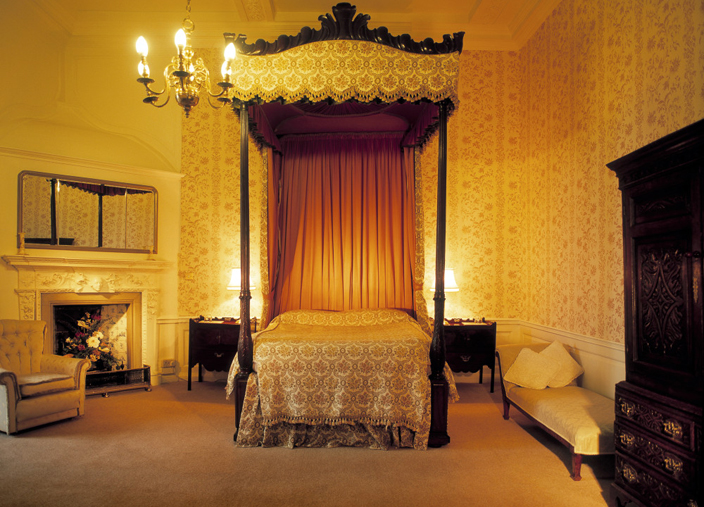 The Furnishings Of Bishops Bedroom Date From Seventeenth Century Onwards As Room