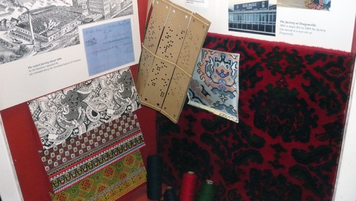 Carpet-making was one of the industries for which Durham was renowned. It has long-since shut down, but the Durham Heritage Centre holds material giving an overview about its history.