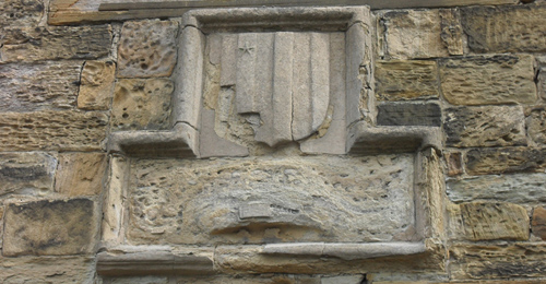 Langley's coat of arms. It is to John Cosin's credit that when building his almshouses he recognised and maintained the institution founded by his predecessor 250 years earlier.