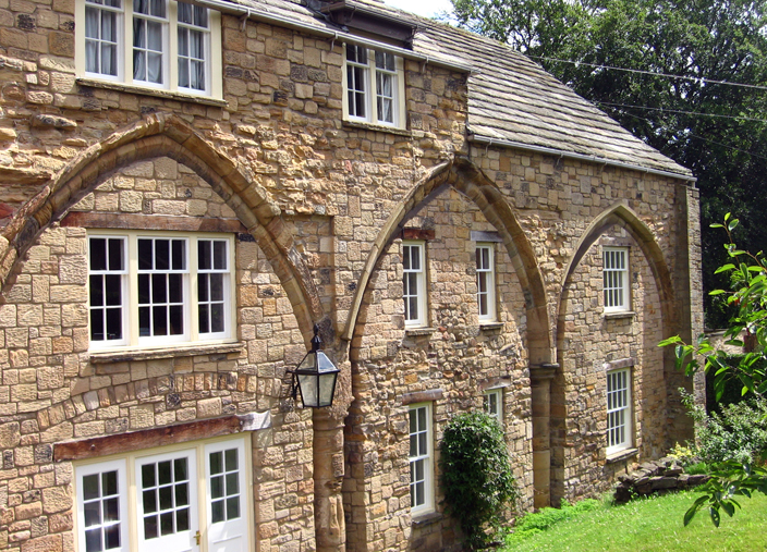 The buildings of the College were 'modernised' over the course of their history, and it is possible to mistake them for 17th or 18th century structures. Closer examination reveals that they are medieval buildings that have been remodelled though.