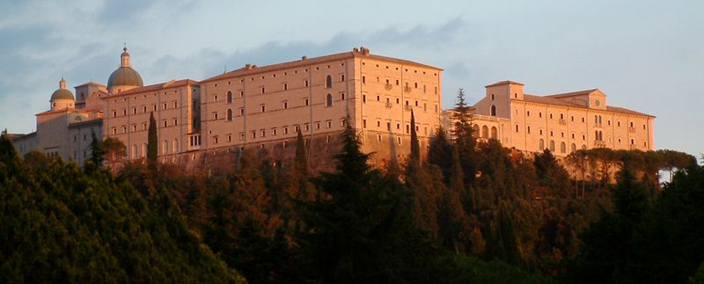The Monte Cassino monastery today.
