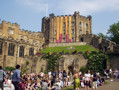 Castle Day, held in June, is an occasion when members of the College to celebrate the end of exams and, usually, fine summer weather