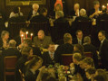 'Formals' as they are known, bring together the college's three common rooms. 'High table', slightly elevated from the rest of the hall,  comprises the members of the Senior Common Room and their guests, and sometimes members of the Middle Common Room as well. The hierarchical seating arrangement echoes the way the hall would have been used for banquets by the Durham Prince Bishops.