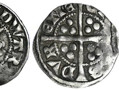 A silver penny issued by Bishop Anthony Bek between 1301 and 1310. This was during the reign of Edward I. Bishop Bek also held the title of Patriarch of Jerusalem (from 1306-1311). He was the only Englishman ever to hold that prestigious title.