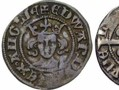 A silver penny issued by Bishop Thomas Hatfield between 1351 and 1361. This was during the reign of Edward III.