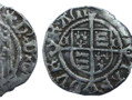 A silver penny minted in Durham in 1530, during the Bishopric of Cuthbert Tunstall. This was the reign of Henry VIII, who later closed down ecclesiastical mints (mints run by religious institutions) such as the one at Durham.