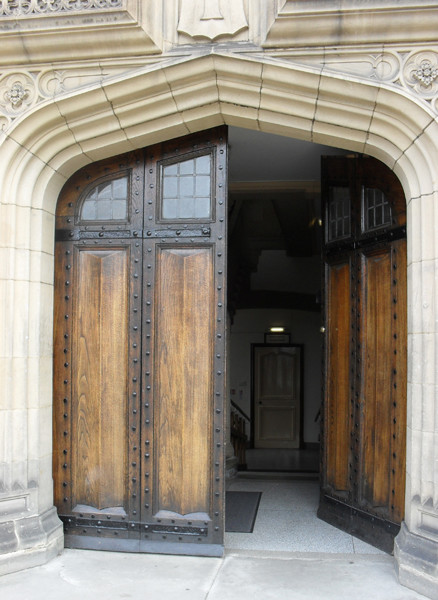 Door of the Pemberton Building