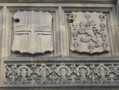 The stonework of the Pemberton Building is extremely finely carved.