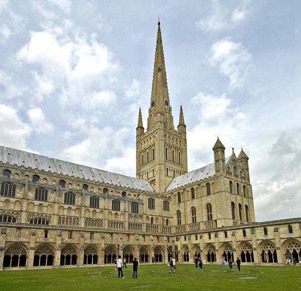 View of Norwich Cathedral