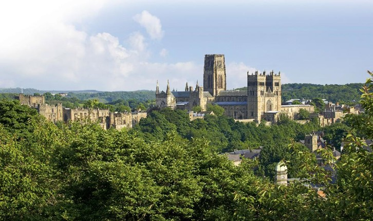 The relationship between the Durham Cathedral and Castle reflects the combined secular and religious power that gave Durham its unique political importance under the rule of its Prince Bishops.