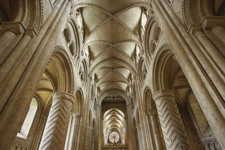 Durham's greatest claim to fame in terms of architectural innovation is the stone vaulted ceiling of the Cathedral Nave, the first in the world of its type at such a large scale. It was to have a major impact on centuries of cathedral architecture.