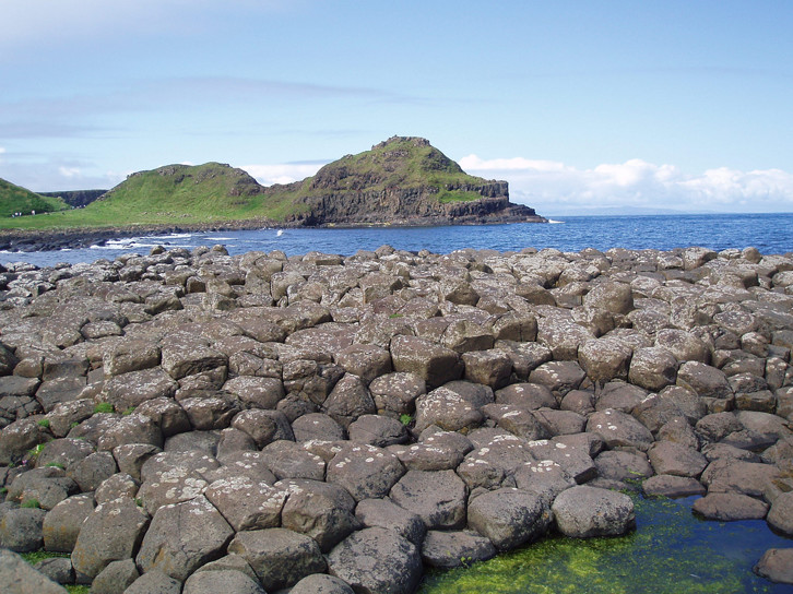 View of Giant's Causeway