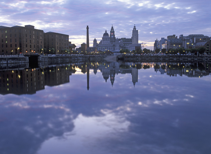 View of Liverpool Mercantile Maritime City World Heritage Site