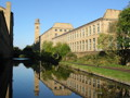 View of the mill at Saltaire World Heritage Site